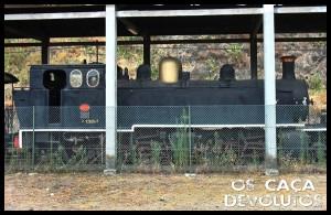 7 - Máquina a vapor do comboio turístico(cd)