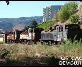 Estação da Régua – Comboios abandonados
